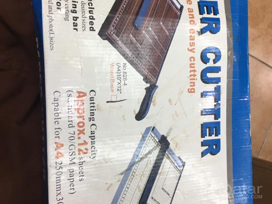 Paper Cutter.