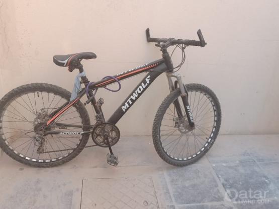 Bicycle MTWOLF 26 inc