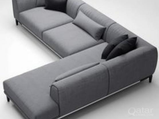 Al  shape sofas FOR sell 6 meter  QR 2400
