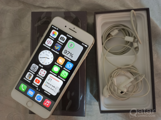 iPhone 8plus Silver 256gb for sale
