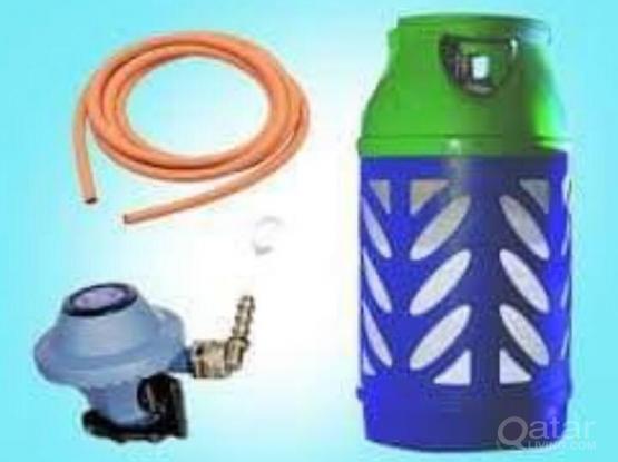 Urgent Gas cylinder with Regulator pipe