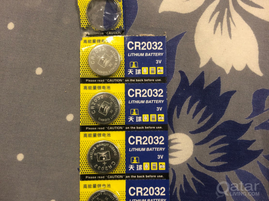 CR2032 Lithium Battery (4 Pieces)
