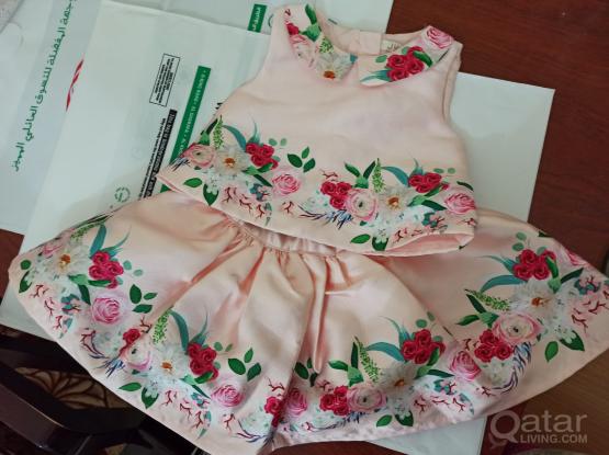 Juniors brand New girl baby dress