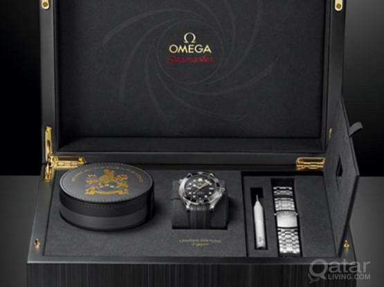NEW OMEGA JAMES BOND 50th ANNIVERSARY WATCH '007