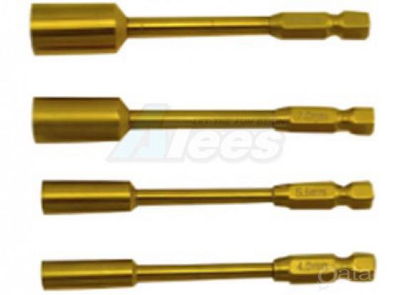 RC Car Titanium Tip Nut Driver 4.0/5.5/7.0/8.0mm