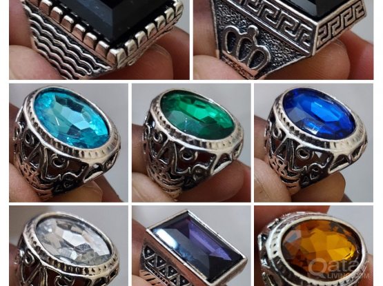 Gems-Stone Rings from The United States _ Size 9.5