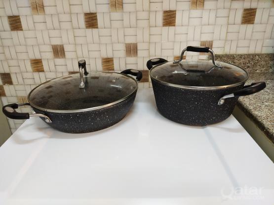 SCOVILLE NON STICK cooking pans