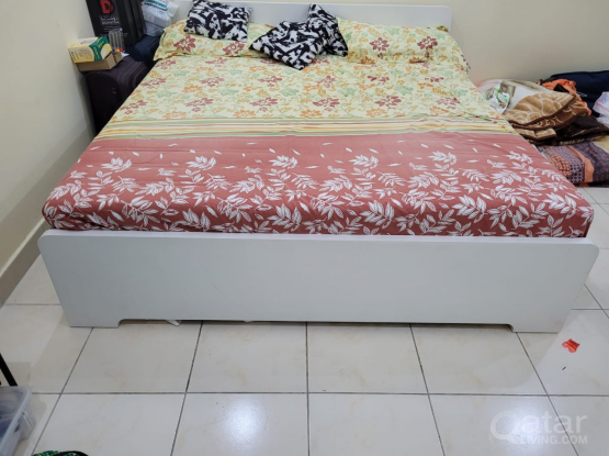 IKEA bed with mattress call 33831234