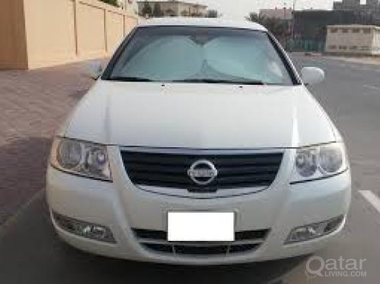 nissan sunny 2013 for rent