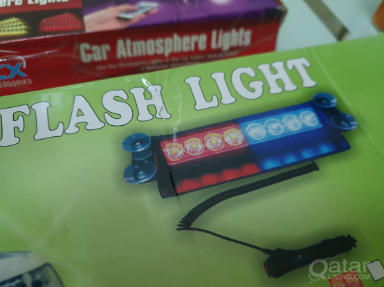 Dashbord Police Flash Light + Car ambience light (free delivery)