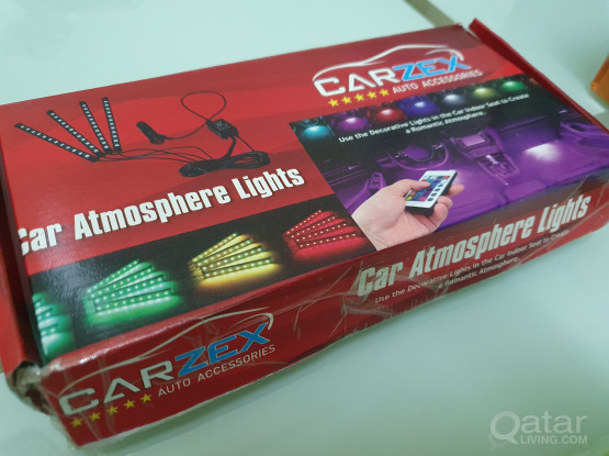 Car ambience floor light with remote (free delivery to your location)
