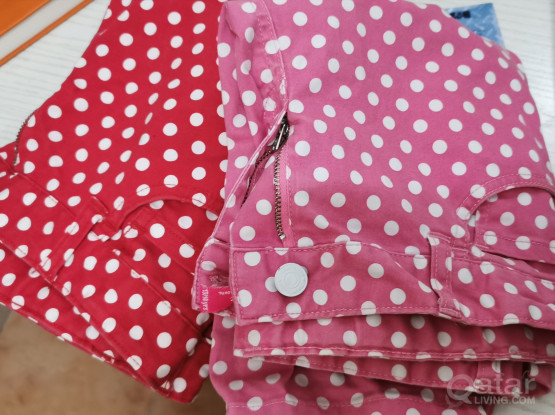Girls cotton  shorts   2 pieces (7-.10 yrs
