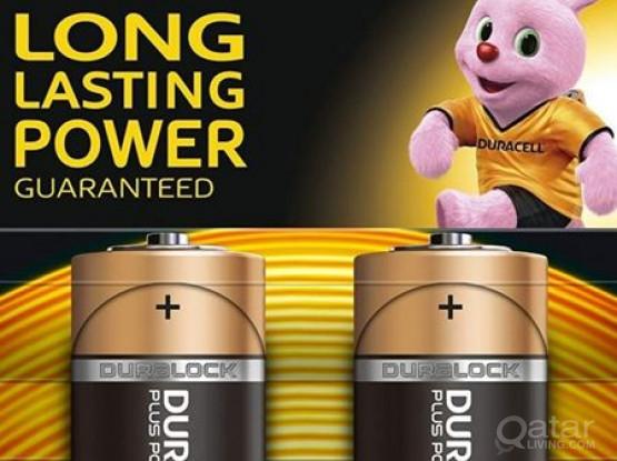 New Duracell MN1400 Battery Alkaline