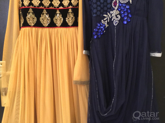 NEW! (Never Worn) Girls Traditional Dresses (8-10 years) 3 Piece set