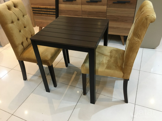 Table with 2 chair from home center