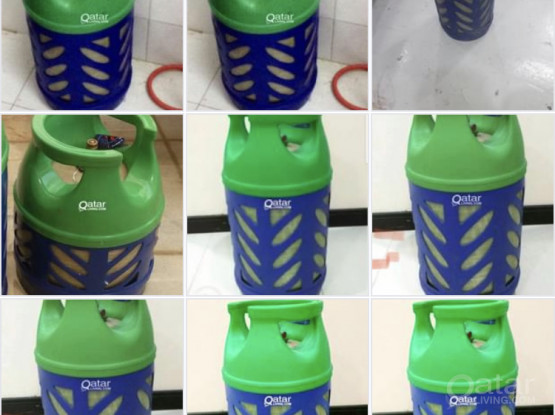 10 pieces of 12kg Gas cylinder  each 270