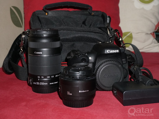 Canon 760d & lenses