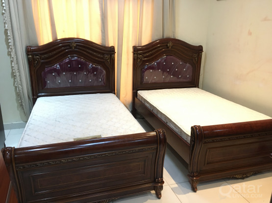 2 single Bed with mattress for Sell