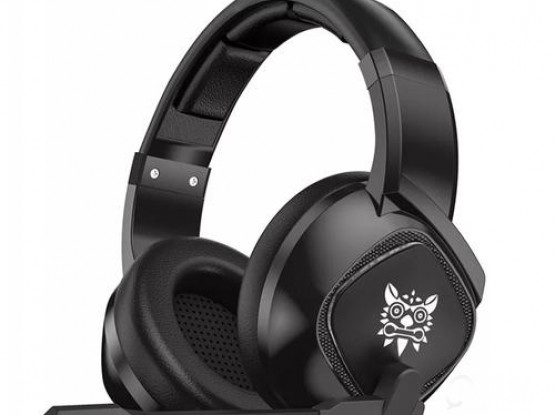 ONIKUMA K19 3.5mm Jack Stereo Gaming Headset Headphone for PS4 NewXbox One PC Tablet Laptop with Mic LED Light