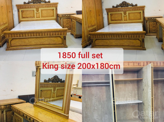 For sell all kinds of Bedroom set in Excellent condition.