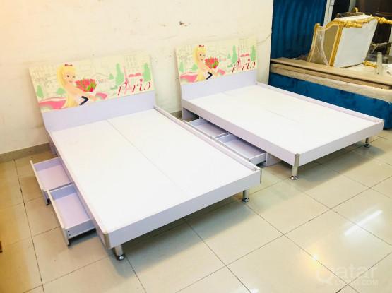 2 single bed 190x120cm