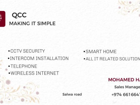 CCTV, INTERCOM, DATA, SMART HOME , IT SOLUTIONS