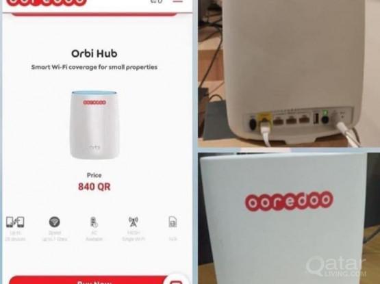 Orbi oreedo router net connecter