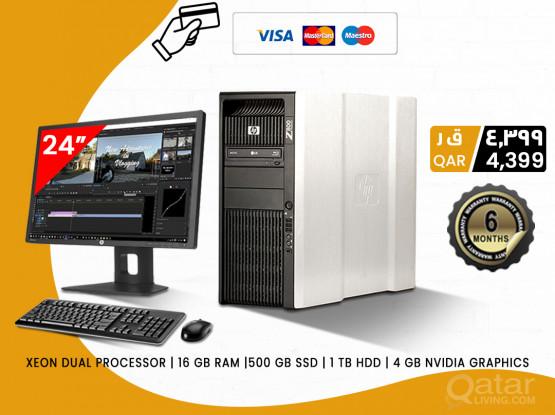 HP Z800 WORKSTATION XEON PROCESSOR