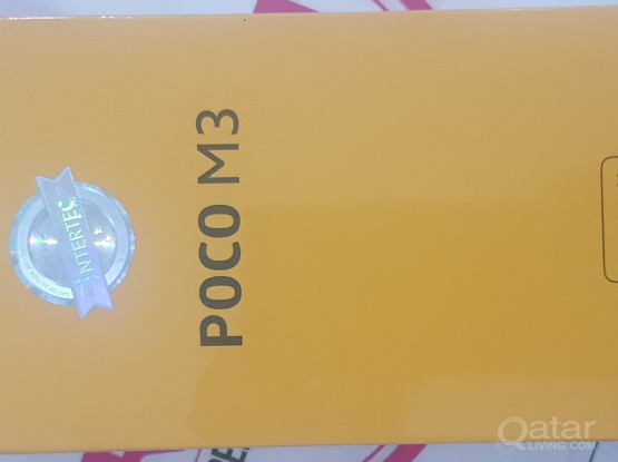 POCO M3 Brand New For Sale Only 555
