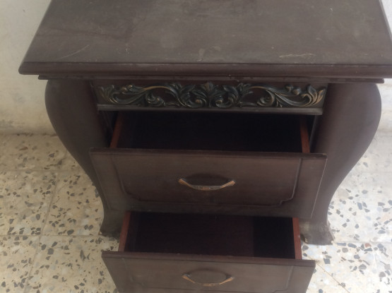Good carved side table