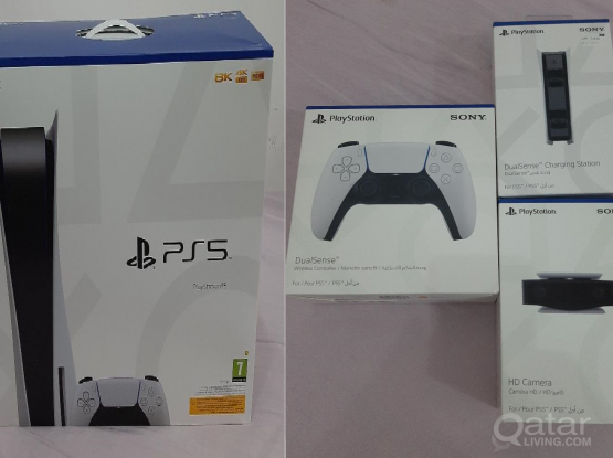 PlayStation 5+Extra Controller+PS5 HD Camera + Controller Charging Station