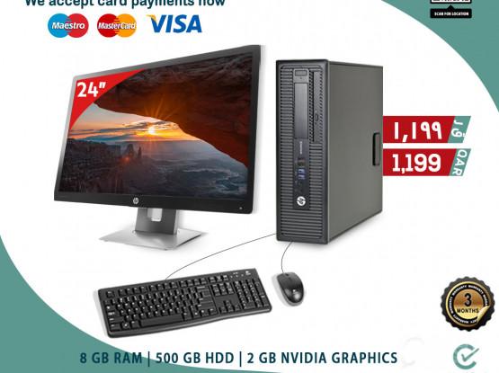 HP 800 G2 ELITE-DESK i5 (BUSINESS DESKTOP)