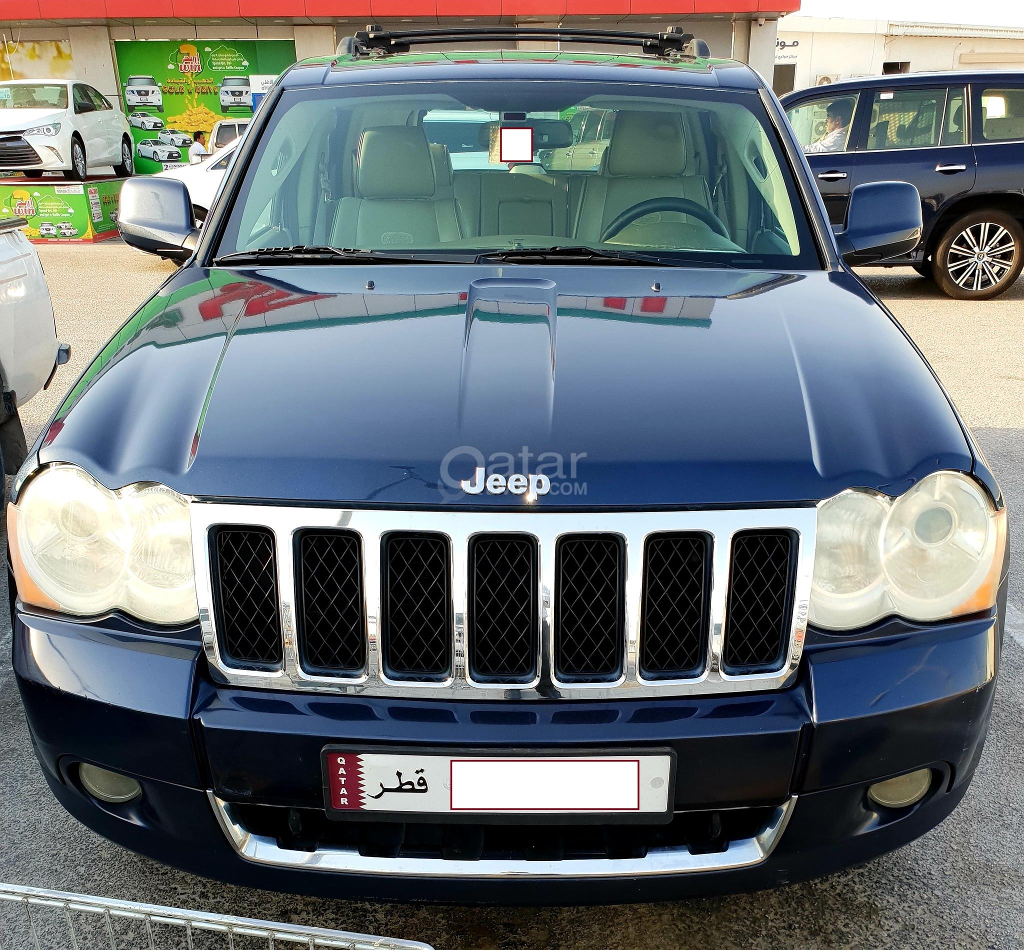 Jeep Grand Cherokee 2009 Overland Dark Blue Color In A Good Condition Qatar Living